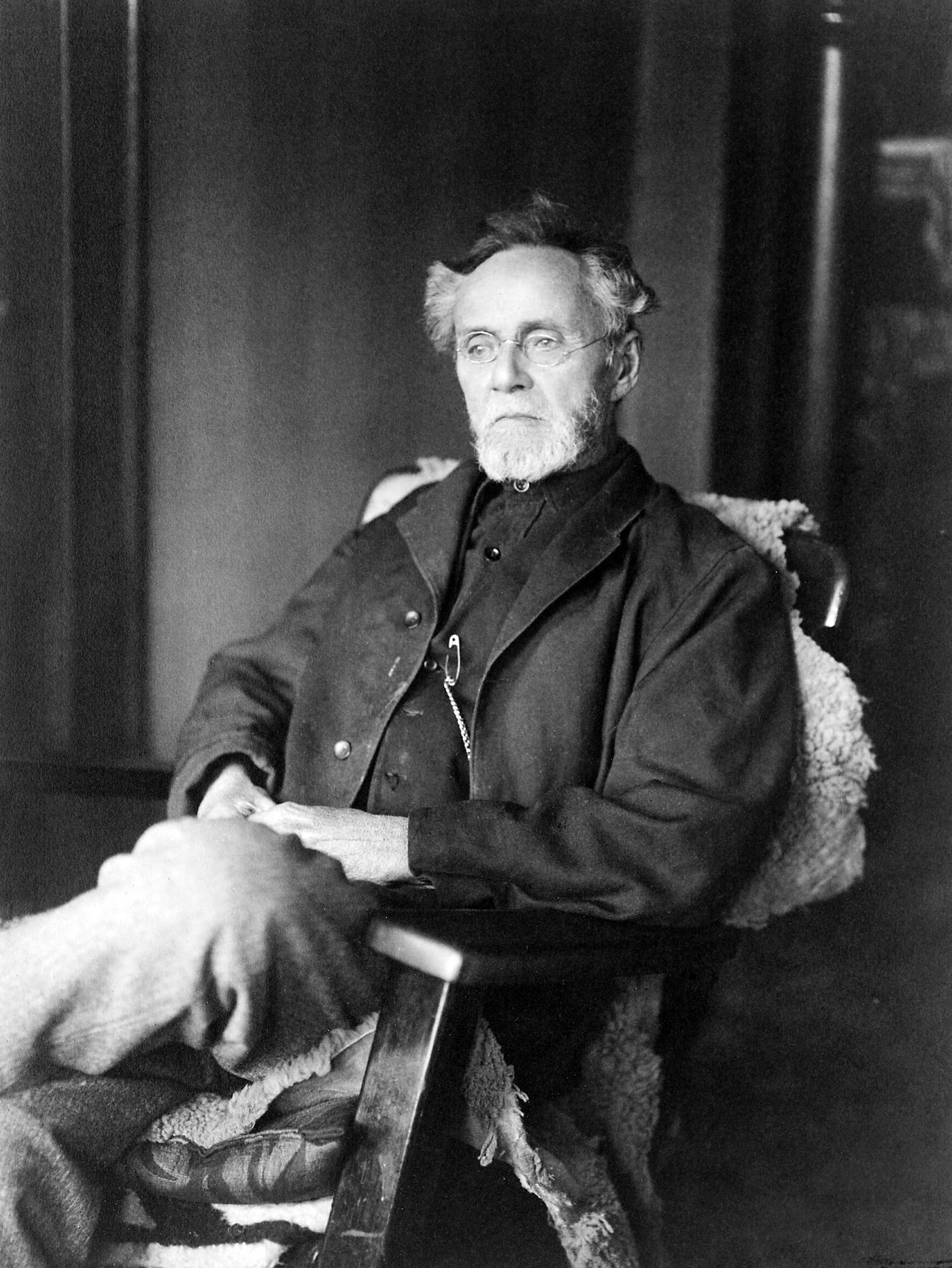 Andrew Taylor Still im Jahre 1914
